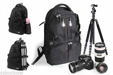 Canvas Camera Backpacks with Accessory Compartments
