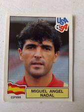 PANINI USA 94 WORLD CUP 1994 STICKER #187 MIGUEL ANGEL NADAL - SPAIN  - unused