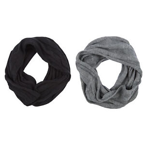 Pierre Roche Mens Cable Knitted Snood