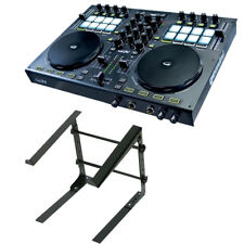 Gemini G2V 2-Channel Virtual DJ Controller w/ Odyssey L STAND S Laptop Stand