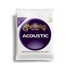 Martin & Co M175 Bronze Custom Light Acoustic Guitar Strings 11 - 52