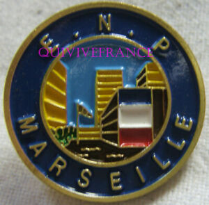 BG11369 - INSIGNE BADGE ECOLE NATIONALE DE POLICE MARSEILLE