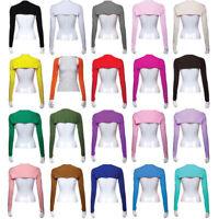Fashion Hijab Muslim One Piece Sleeves Arm Cover Shrug Bolero Hayaa Multicolor F