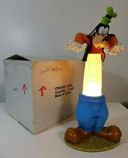 2005 Disney Catalog Goofy Lava Lamp Figure Light w/ Mickey Mouse Head Ears Icons