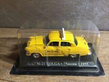 Dia Cast Gaz M-21 Volga Taxi Moscow 1955