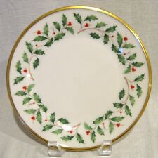 Lenox Holiday Salad Plate Factory First Quality