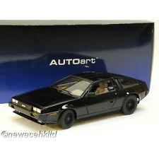 DELOREAN DMC-12 (METALLIC BLACK) AUTOart MODEL 1/18 #79917