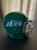 Vintage NFL New York Jets  Ceramic Helmet Memorabilia Piggy Bank NIB