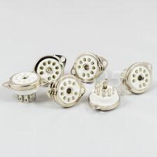 1 X Zócalo noval B9A 9 Pins ceramic socket