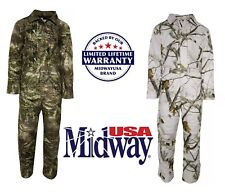 NEW WARM MidwayUSA Men's Hunter's Creek Coveralls Realtree Max1 & AP Snow ONE PC