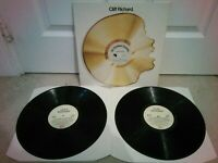 "Cliff Richard – 40 Golden Greats Vinyl 12"" Double LP EMTV S6 1977"