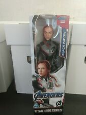 Black Widow Marvel Avengers 12 inch Action Figure Titan Hero Series Endgame Fx