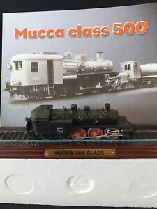 "COLLECTORS MODEL TRAIN ATLAS EDITIONS  "" MUCCA  500  CLASS """