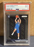 2018 Panini Prizm #280 Luka Doncic PSA 9 Mint Dallas Mavericks RC Base Rookie