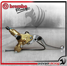 Pompa Freno Tangenziale Assiale Brembo Serie Oro Con Switch PSC 16 - 10977011