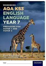 AQA KS3 English Language: Year 7 Test Workbook by Helen Backhouse, David...