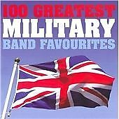 100 Greatest Military Band Favourites, Various Artists, Very Good Box set