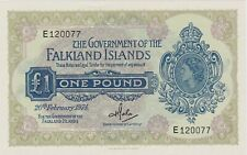 More details for superb p8b falkland islands one pound banknote in mint condition dated 1974
