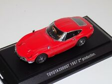 1/43 Ebbro Toyota 2000 GT 1967 2nd Production in Red  #105