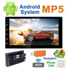 7 Inch 2Din Quad-Core Android 8.1 Car WiFi BT MP5 Player GPS FM Radio + Camera