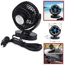 Cool Summer day ! - 12V Vehicle Car Universal 2 Speed Strong Wind Mini Fan 360°