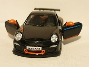 PORSCHE 911 GT3 RS BLACK 1.36 DIECAST MODEL CAR BIRTHDAY CHRISTMAS NEW BOYS TOYS