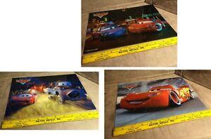 Disney Pixar 2008 Cars Puzzle Lot- 20 Pieces Each Heavy Plastic Pieces Original