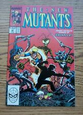 The New Mutants #80 Curse of the Valkyries  Marvel Comics Excellent Unread 1989