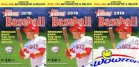 (3) 2019 Topps Heritage Baseball EXCLUSIVE Factory Sealed HANGER Box-Loaded!