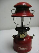 Coleman 200 Burgundy lantern (1/68) made in Canada