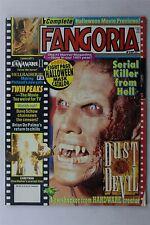 Fangoria Magazine #117 1992 Horror Film Twin Peaks Dave Schow Candyman