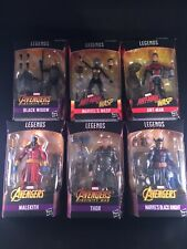NEW Hasbro Marvel Legends Series Avengers BAF Cull Obsidian Wave 2 Set of 6 Figs