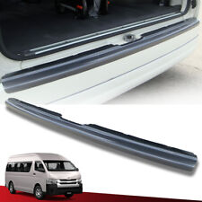 BUMPER PROTECTOR GUARD REAR CARBON KEVLAR FOR TOYOTA HIACE COMMUTER 2005-ON