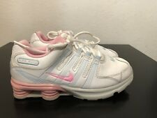 Nike Shox NZ 2.0 PS Girls Shoes US 3Y EUR 35 White/Pink [428627-160]