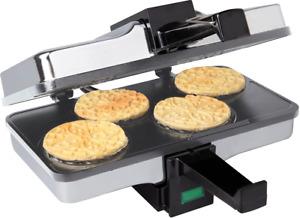 Pizzelle Maker Iron Baker Italian Cookies / Waffle Non-Stick Grids New