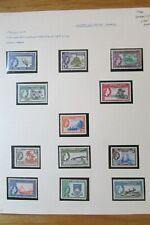 Gilbert & Ellice Islands Complete QEII Mint Stamp Set to 10/- (1956): SG64 – 75
