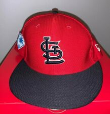 2019 St. Louis Cardinals New Era Fitted Hat Size 7 1/8 Spring Training Cap