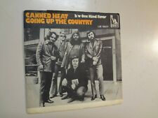 "CANNED HEAT:Going Up The Country-One Kind Favor-Sweden 7""68 Liberty LIB56077 PSL"