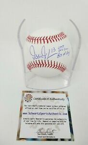 Ozzie Guillen White Sox  AUTOGRAPHED SIGNED 2 INSCRIPTIONS BASEBALL BALL SS