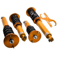 NEW 24-Way Fully Adjustable Coilover Suspension For Nissan Skyline R33 GTS GTST