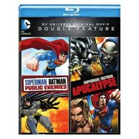 WARNER HOME VIDEO BR596855 SUPERMAN/BATMAN-PUBLIC ENEMIES/SUPERMAN/BATMAN-APO...