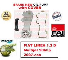 FOR FIAT LINEA 1.3 D Multijet 90bhp 2007->on BRAND NEW FAI OIL PUMP with COVER