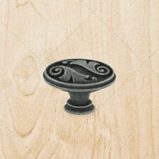 Kitchen Cabinet Hardware Drawer Oval Knobs ku097 Swedish Iron Pulls