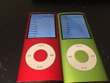 Lots 2 Apple iPod nano 4th Generation (8 GB) Please Read AC892