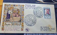 Enveloppe 1er jour Musée de l Imaginerie, Saint Nicolas