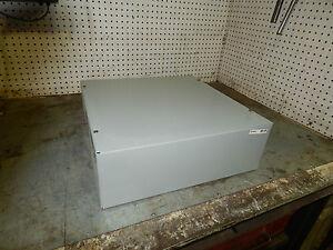"""Wiegmann SC181806NK Screw Cover Junction Box Enclosure 18""""x18""""x6"""""""