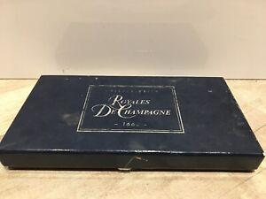 French Cristal Bourbon Champagne knife holder box