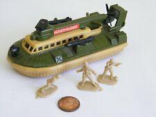 Vintage 1974 Matchbox Battle Kings K-105 Hover Raider & 3 Lesney Soldiers