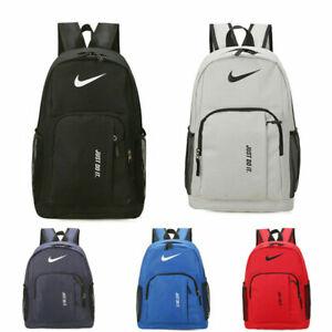 Men Women Large Capacity Backpack Travel Sport Outdoor Rucksack Luggage Bag UK