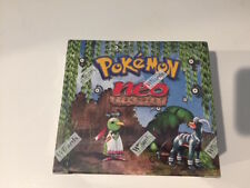 Pokemon - Neo Discovery 1st Edition Booster Box - Factory Sealed - US English